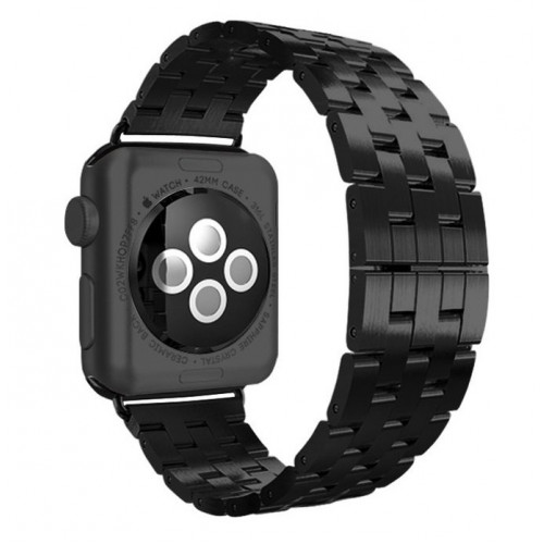 Металлический браслет для Apple Watch 38/42mm Black