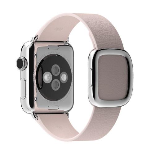Браслет кожаный Rose Gray Modern Buckle for Apple Watch 38/42mm