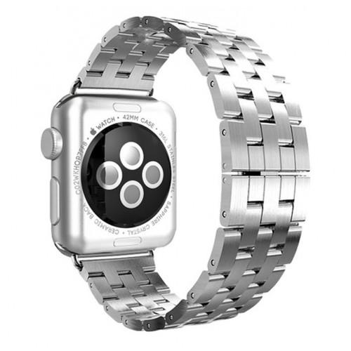 Металлический браслет для Apple Watch 38/42mm Silver