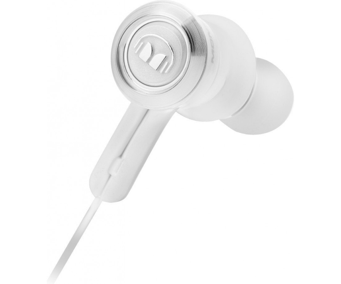 Наушники Monster® Clarity HD™ In-Ear Wireless Bluetooth White and Chrome