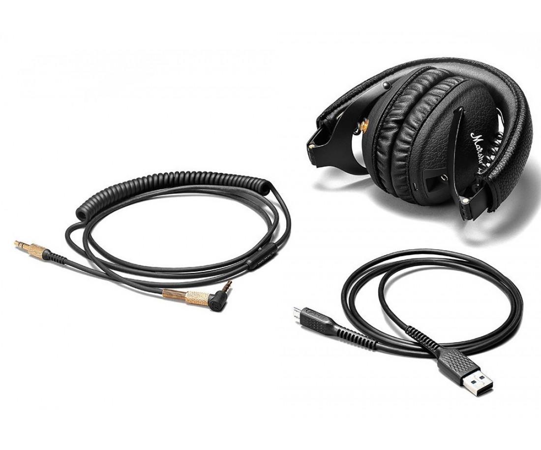 Наушники Marshall Headphones Monitor Bluetooth Black