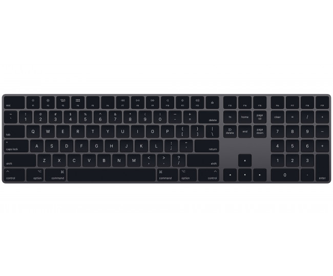 Клавиатура Apple Magic Keyboard 2 Space Gray (MRMH2)