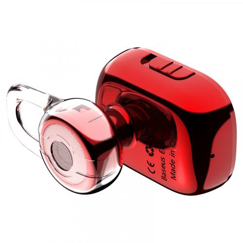 Bluetooth гарнитура Baseus Encok A02 Mini Red