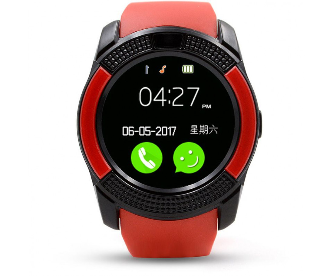 UWatch V8 Red