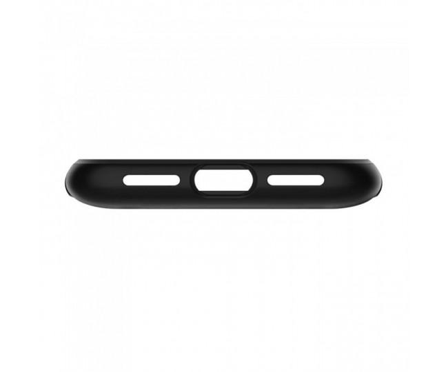 Чехол Spigen Case Slim Armor для iPhone X Black (057CS22138)