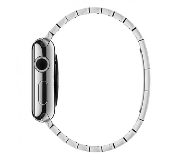 Apple Watch Series 2 42mm Stainless Steel Case with Silver Link Bracelet (MNPT2)