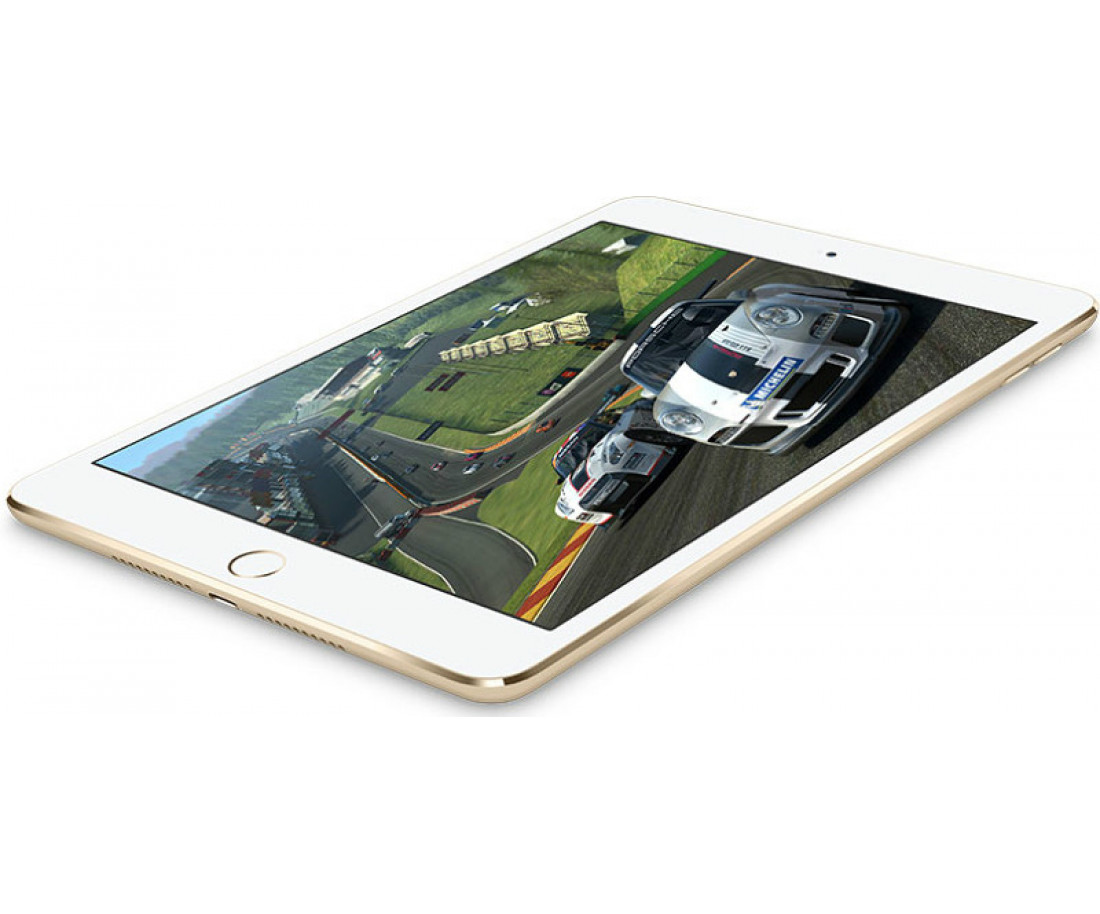 Apple iPad mini 4 with Retina display Wi-Fi 128GB Gold (MK9Q2)
