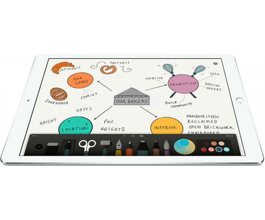 Apple iPad Pro Wi-Fi 128GB Silver (ML0Q2)