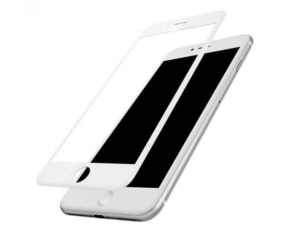 Защитное стекло Baseus 3D PET Soft для iPhone 6/6S Plus White