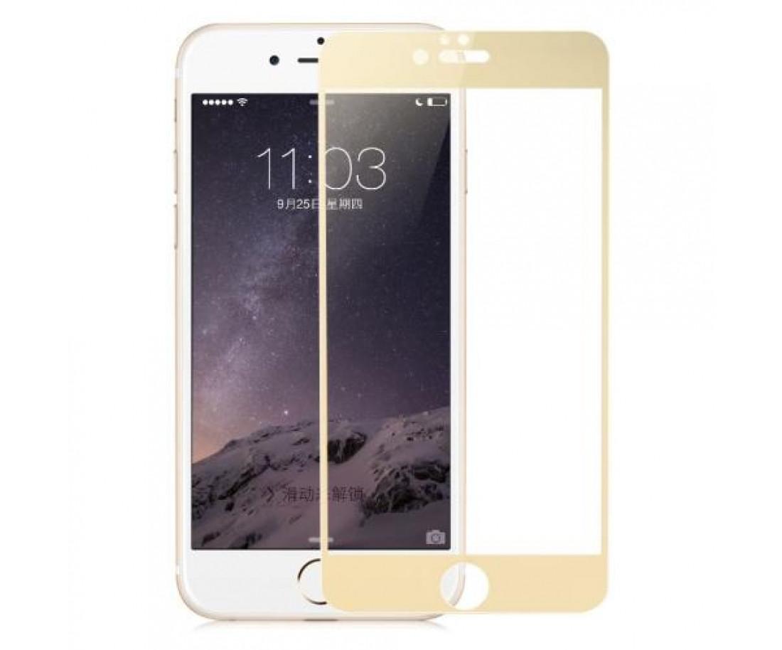 Защитное стекло Baseus 3D PET Soft для iPhone 7 Plus Gold