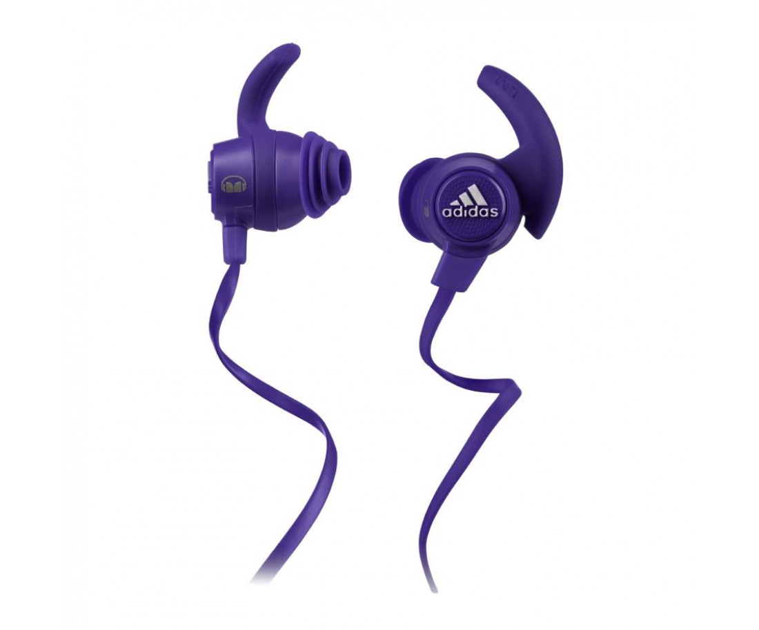 Наушники Monster® by Adidas® Sport Response™ Earbuds Purple