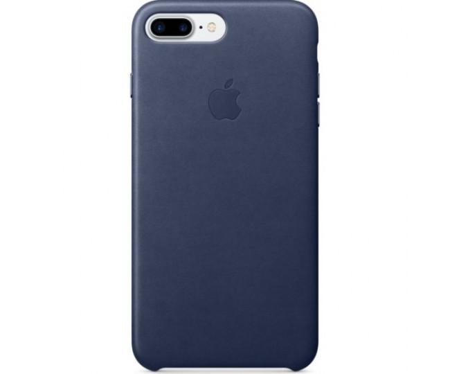 Чехол Apple iPhone 7 Plus Leather Case - Midnight Blue (MMYG2)