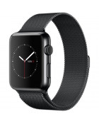 Ремешок Apple Watch 38mm Milanese Loop Space Black