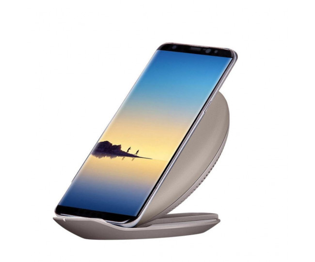 Беспроводная Qi зарядка Samsung Fast Charge WC Convertible EOM Tan