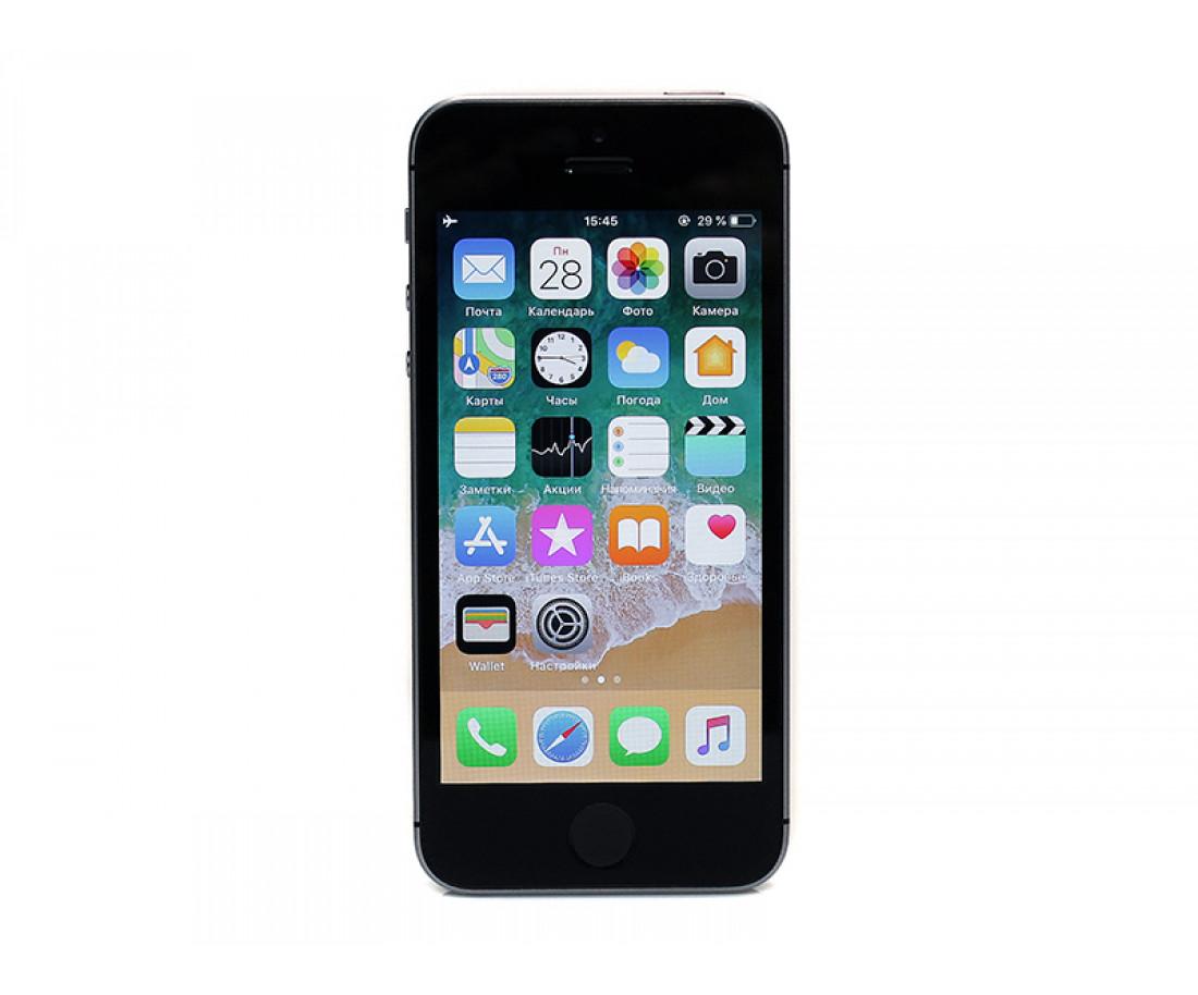 iPhone SE 64gb, Space Gray б/у