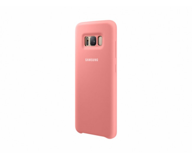 Чехол Silicone Cover для Samsung Galaxy S8 Plus Pink