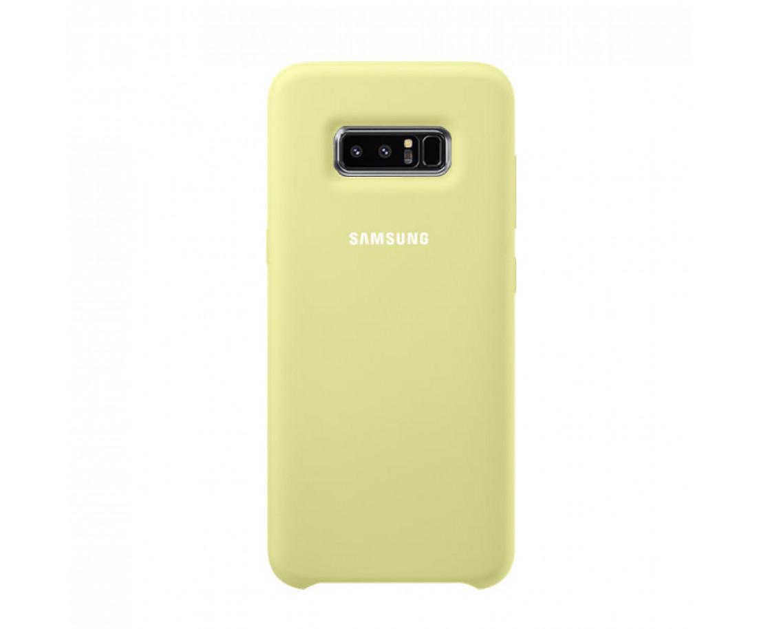 Чехол Silicone Cover для Samsung Galaxy Note 8 Green