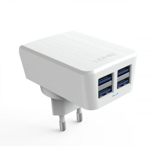 CЗУ Ldnio 4.2A 4 USB White