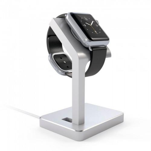 Подставка Satechi Aluminum Apple Watch Charging Stand Silver