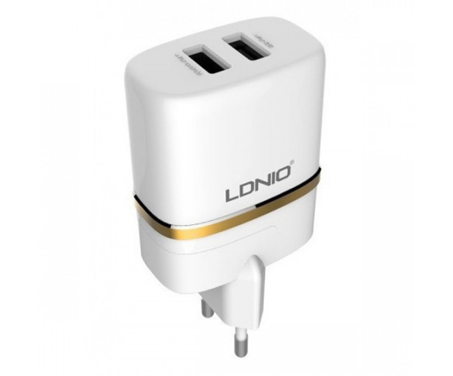 CЗУ LDNIO 2.4A 2USB+cable A2204