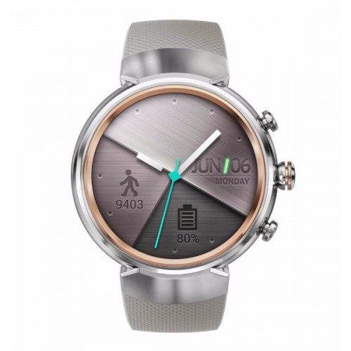 Asus ZenWatch 3 WI503Q Silver Rubber Beige
