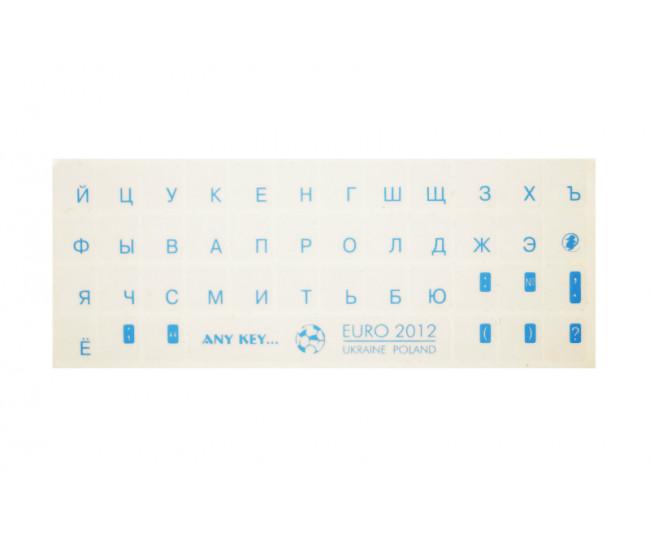 Прозрачные наклейки для клавиатуры