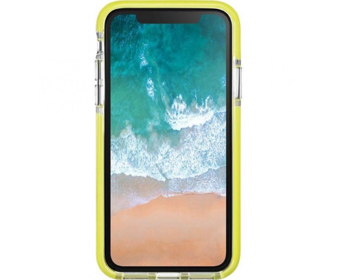 Чехол LAUT FLURO для iPhone X Yellow (LAUT_iP8_FR_Y)