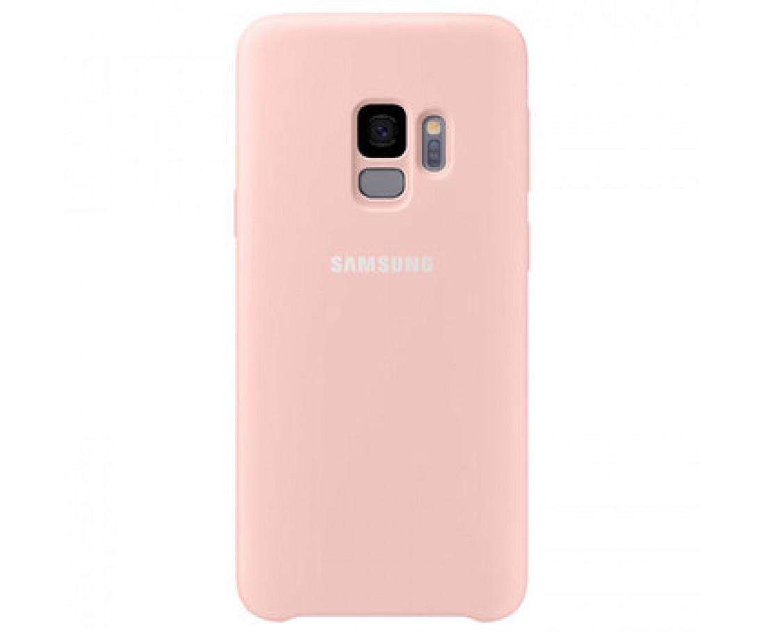 Чехол Silicone Cover для Samsung Galaxy S9+ Peach