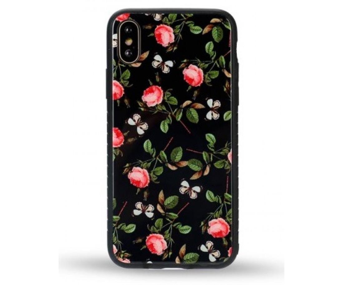 Чехол WK Design Glass LL02 для iPhone 7/8 Rose