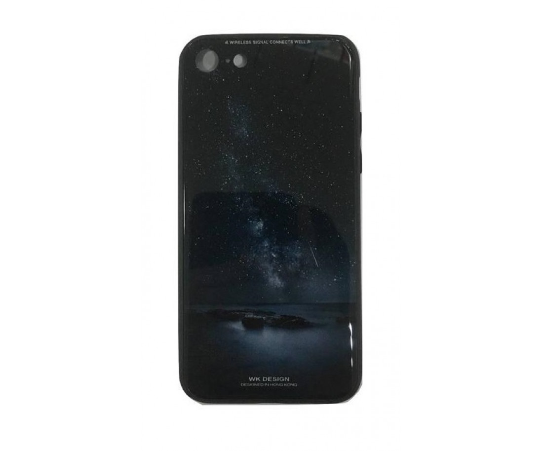 Чехол WK Design Glass LL06 для iPhone 6/6s Plus Night
