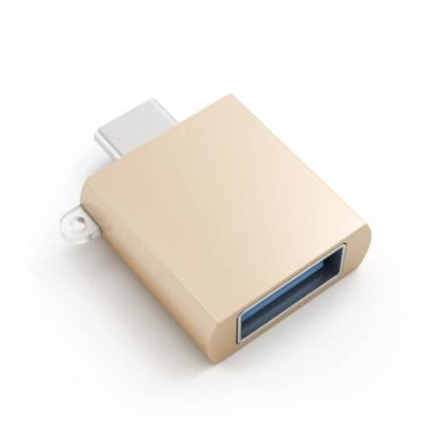 Адаптер Satechi Type-C USB Adapter Gold (ST-TCUAG)