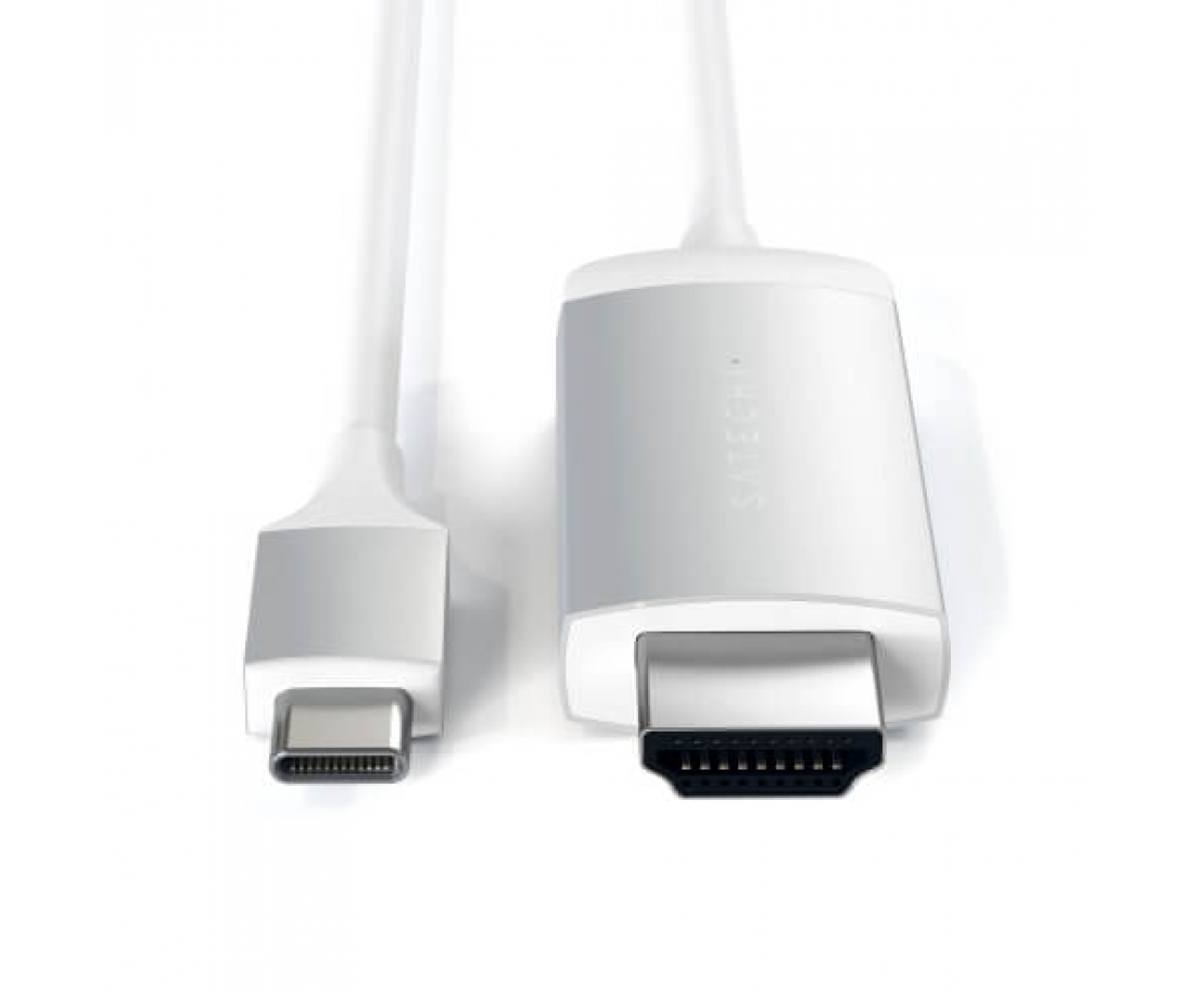 Кабель Satechi Type-C to 4K HDMI Cable Silver (ST-CHDMIS)