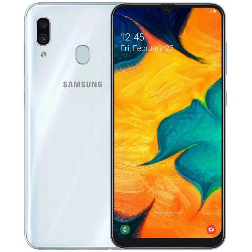 Samsung Galaxy A30 A305F 3 / 32GB White (SM-A305FZWUSEK) (UA UCRF)