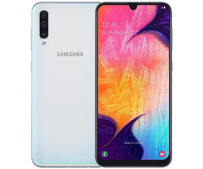 Samsung Galaxy A50 A505F 4/64GB White (SM-A505FZWUSEK)(UA UCRF)