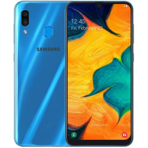 Samsung Galaxy A30 A305F 4 / 64GB Blue (SM-A305FZBOSEK) (UA UCRF)