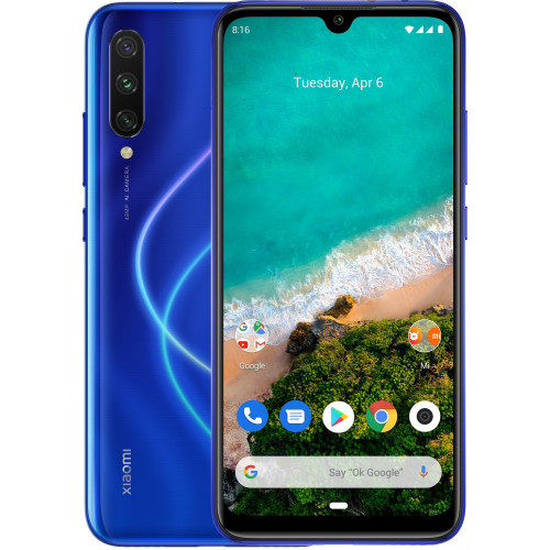 Xiaomi Mi A3 4/64GB Not just Blue (502680) (UA UCRF)