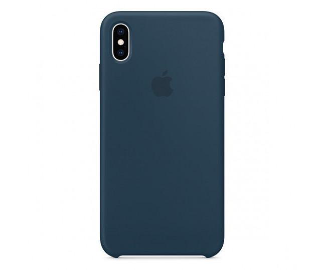 Чехол для смартфона Apple iPhone XS Max Silicone Case - Pacific Green (MUJQ2)