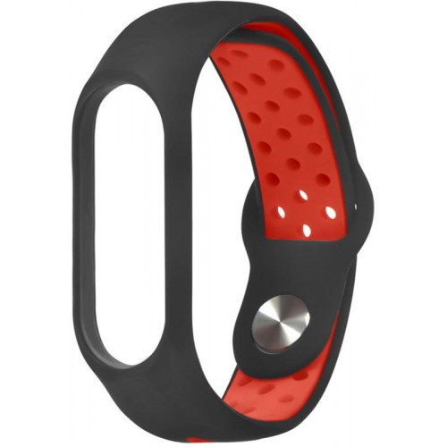 Xiaomi Mi Band 3/4 Wrist Strap Nike Black/Red