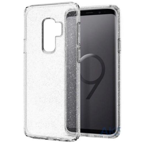 Spigen Samsung Galaxy S9 Plus Case Liquid Crystal Glitter Crystal Quartz 593CS22918