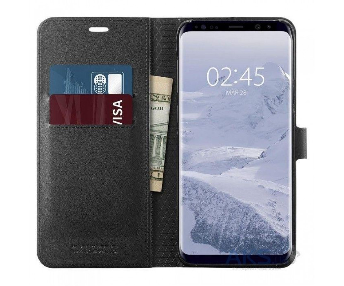 Spigen Samsung Galaxy S9 Wallet S Black 592CS22870