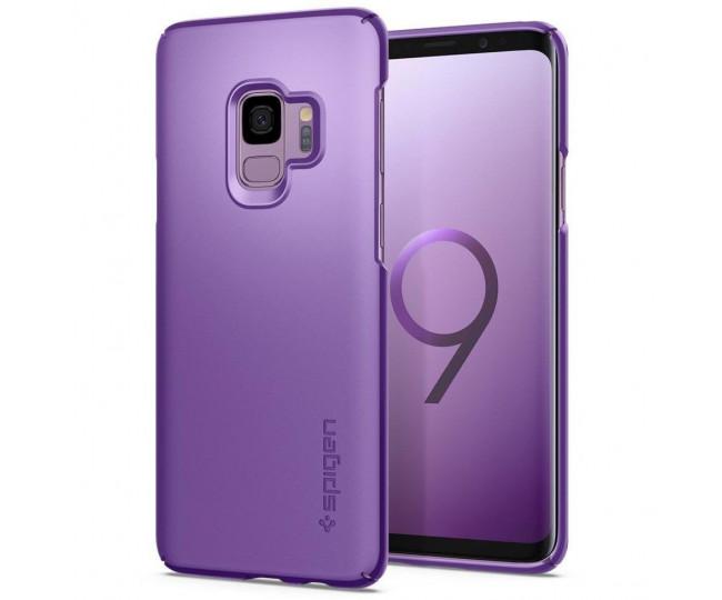 Spigen Samsung Galaxy S9 Case Thin Fit Lilac Purple 592CS22824