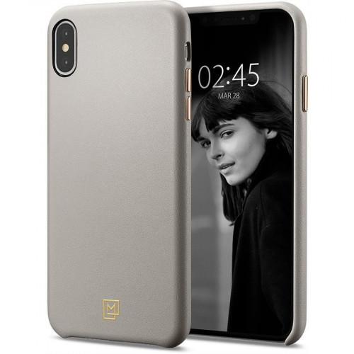 Spigen iPhone XS Max La Manon calin Oatmeal Beige 065CS25093