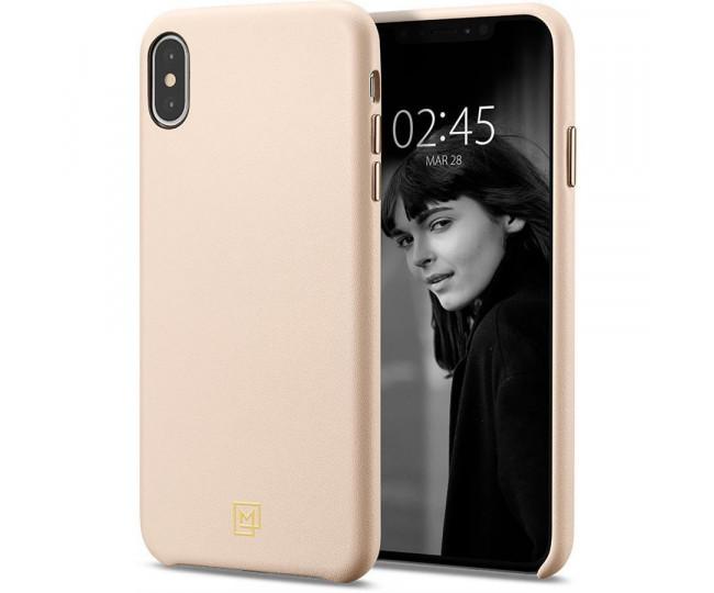 Spigen iPhone Xs Max La Manon Calin Pale Pink 065CS25094