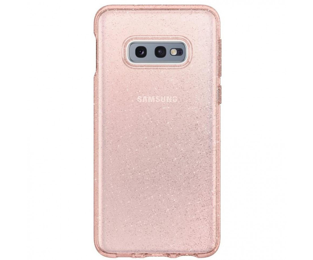 Spigen Samsung Galaxy S10E G970 Liquid Crystal Glitter Rose Quartz (609CS25835)