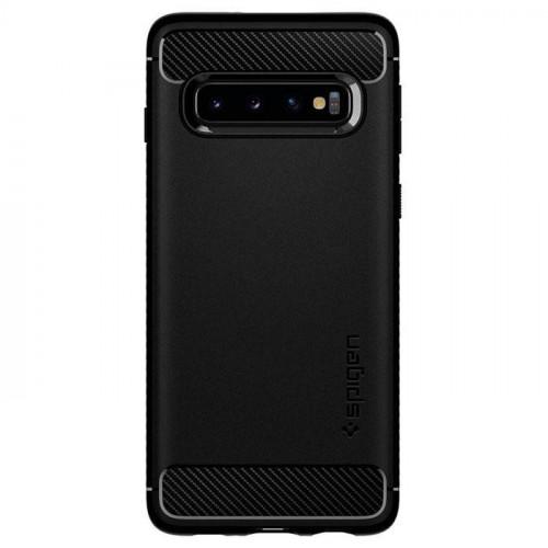 Spigen Samsung Galaxy S10 G973 Rugged Armor Matte Black (605CS25800)