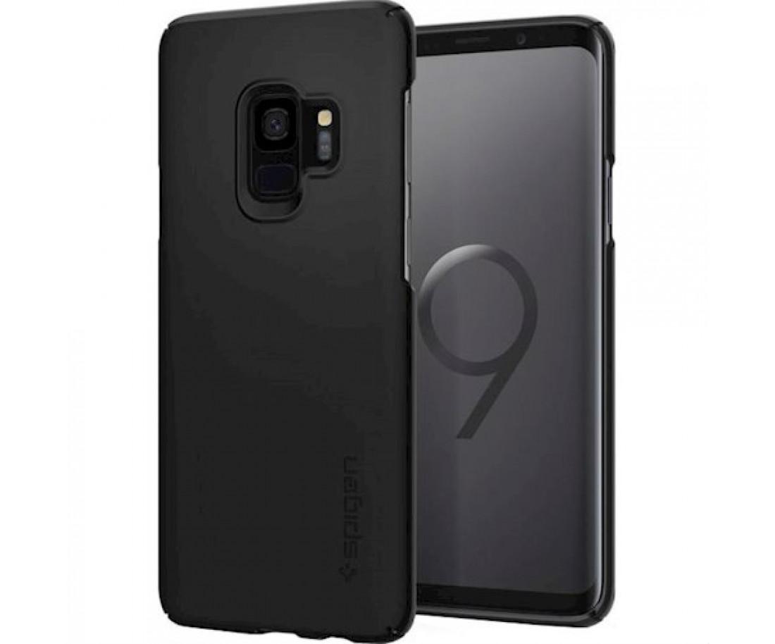 Spigen Samsung Galaxy S9 Case Thin Fit Black 592CS22821