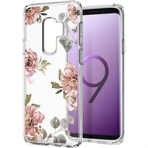 Spigen Samsung Galaxy S9 Plus Case Liquid Crystal Blossom Flower 593CS22916