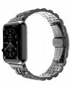 Металлический ремешок 7-Bead Metal Band for Apple Watch 42/44 mm - Black