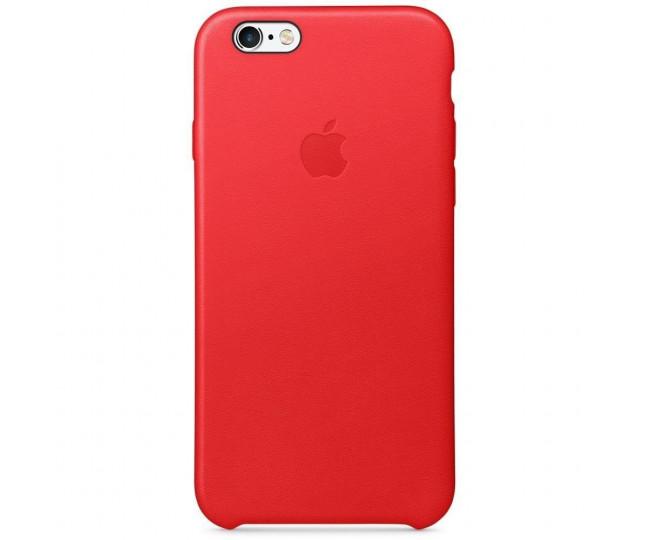 Apple iPhone 6/6s Leather Case - PRODUCT(RED) MKXX2 без коробки