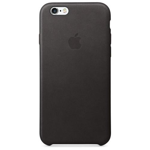 Apple iPhone 6/6s Leather Case - Black MKXW2 без коробки
